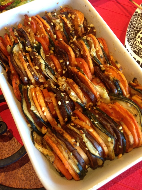 Morrocan Veggie Bake